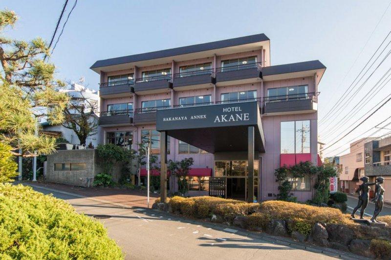 伊豆長岡温泉 創業100年余りの老舗さかなや旅館「茜」