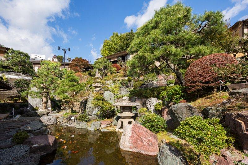 日本情緒溢れる温泉旅館