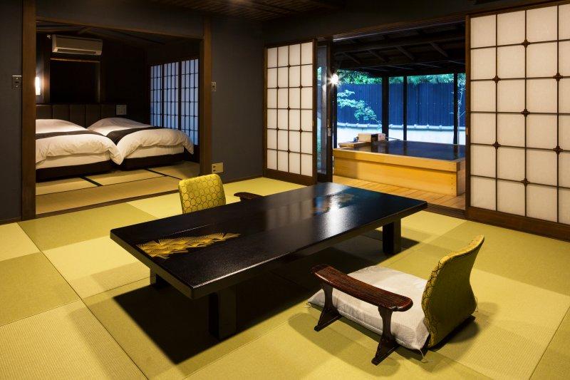 1階2間 - 檜風呂