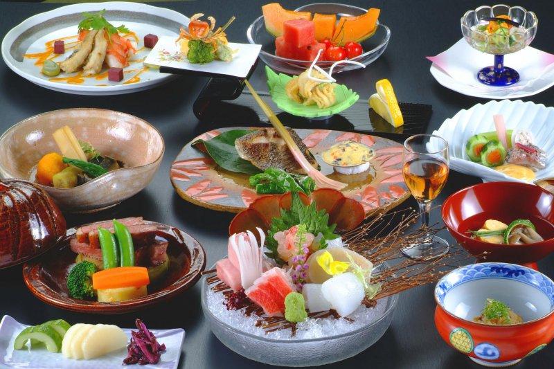 至福の料理は、料理長の厳しい素材選びから