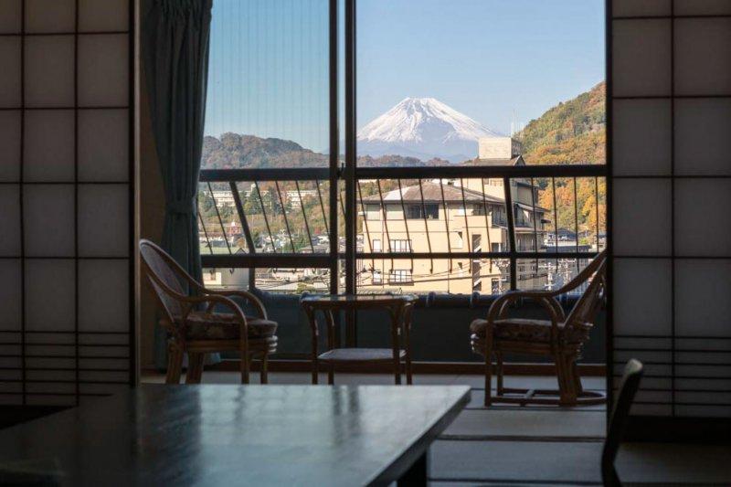 富士山側客室