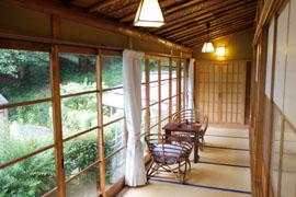 伊豆で唯一の京風数寄屋造りの離れ