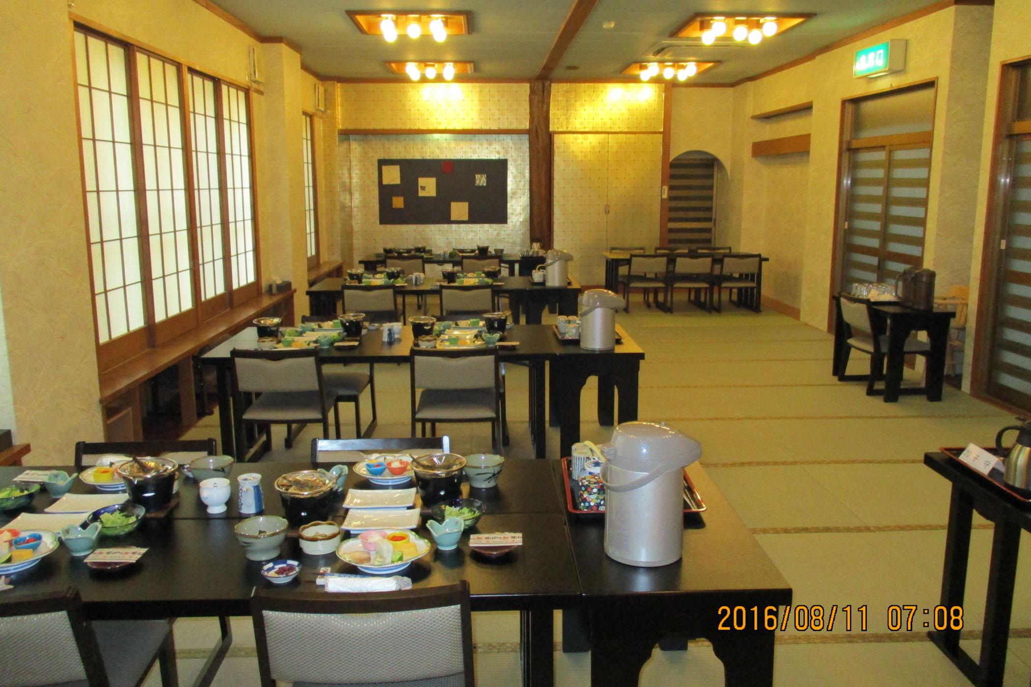 お食事処・大広間 心地よく過ごせる空間
